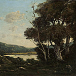 Henri-Joseph Harpignies - Landscape, National Gallery of Art (Washington)