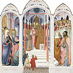 National Gallery of Art (Washington) - Paolo di Giovanni Fei - The Presentation of the Virgin