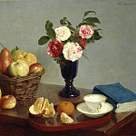 Henri Fantin-Latour - Still Life, National Gallery of Art (Washington)