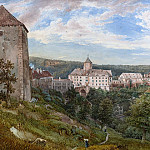 Josef Hoger - Eichhorn Castle at Evening, National Gallery of Art (Washington)