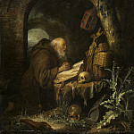 Gerrit Dou - The Hermit, National Gallery of Art (Washington)