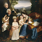 John Singleton Copley - The Copley Family, National Gallery of Art (Washington)