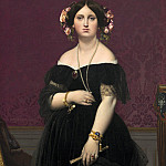 Jean-Auguste-Dominique Ingres - Madame Moitessier, National Gallery of Art (Washington)