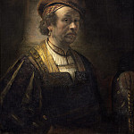 Rembrandt Workshop - Portrait of Rembrandt, National Gallery of Art (Washington)