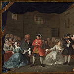 National Gallery of Art (Washington) - William Hogarth - A Scene from The Beggar's Opera
