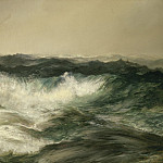 Thomas Moran - The Much Resounding Sea, National Gallery of Art (Washington)