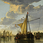 Aelbert Cuyp - The Maas at Dordrecht, National Gallery of Art (Washington)