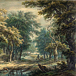 Egbert van Drielst - At Donderen, in the Woods of Drenthe, National Gallery of Art (Washington)