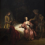 Rembrandt Workshop - Joseph Accused by Potiphar's Wife, National Gallery of Art (Washington)