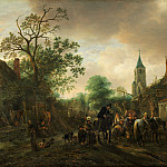 Isack van Ostade – The Halt at the Inn, National Gallery of Art (Washington)