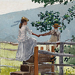 Winslow Homer - On the Stile, National Gallery of Art (Washington)