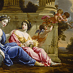 Simon Vouet and Studio - The Muses Urania and Calliope, National Gallery of Art (Washington)