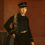 Edgar Degas – Achille De Gas in the Uniform of a Cadet, National Gallery of Art (Washington)