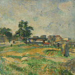 National Gallery of Art (Washington) - Paul Cezanne - Landscape near Paris