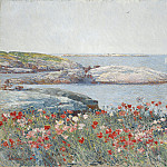 Poppies, Isles of Shoals, Childe Frederick Hassam