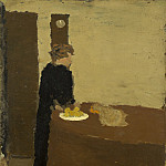 National Gallery of Art (Washington) - Edouard Vuillard - Woman in Black