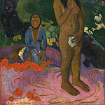 Paul Gauguin – Parau na te Varua ino , National Gallery of Art (Washington)