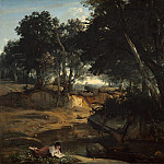 Jean-Baptiste-Camille Corot - Forest of Fontainebleau, National Gallery of Art (Washington)