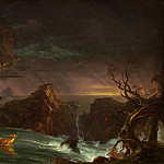 The Voyage of Life: Manhood, Thomas Cole