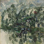 Paul Cezanne - At the Water's Edge, National Gallery of Art (Washington)