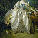 Francois Boucher - Madame Bergeret, National Gallery of Art (Washington)