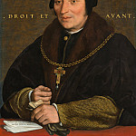 Hans Holbein the Younger - Sir Brian Tuke, National Gallery of Art (Washington)