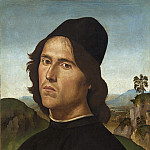 National Gallery of Art (Washington) - Pietro Perugino - Portrait of Lorenzo di Credi