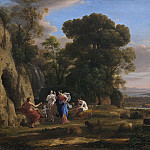Claude Lorrain - The Judgment of Paris, National Gallery of Art (Washington)