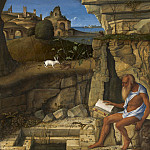 Giovanni Bellini - Saint Jerome Reading, National Gallery of Art (Washington)