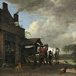National Gallery of Art (Washington) - Paulus Potter - A Farrier's Shop