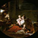 Fragonard, Jean Honore - The Happy Family, National Gallery of Art (Washington)