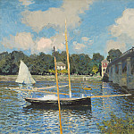 Claude Monet - The Bridge at Argenteuil, National Gallery of Art (Washington)