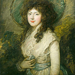 Thomas Gainsborough - Miss Catherine Tatton, National Gallery of Art (Washington)