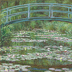 Claude Monet - The Japanese Footbridge, National Gallery of Art (Washington)