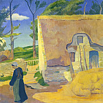 Paul Serusier - Farmhouse at Le Pouldu, National Gallery of Art (Washington)