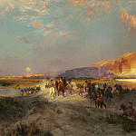 Thomas Moran – Green River Cliffs, Wyoming, National Gallery of Art (Washington)