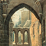 National Gallery of Art (Washington) - Karl Heinrich Beichling - Ruins of the Oybin Monastery in Winter