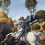 Raphael - Saint George and the Dragon, National Gallery of Art (Washington)