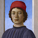 National Gallery of Art (Washington) - Filippino Lippi - Portrait of a Youth