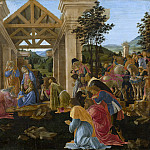 National Gallery of Art (Washington) - Sandro Botticelli - The Adoration of the Magi