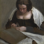 National Gallery of Art (Washington) - Diego Velazquez - The Needlewoman