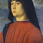 National Gallery of Art (Washington) - Giovanni Bellini - Portrait of a Young Man in Red