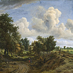 Meindert Hobbema - A Wooded Landscape, National Gallery of Art (Washington)