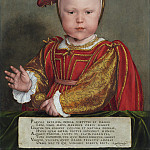 Edward VI as a Child, Hans The Younger Holbein