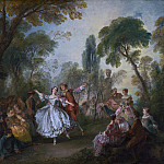 Nicolas Lancret - La Camargo Dancing, National Gallery of Art (Washington)