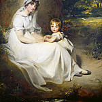 Lady Mary Templetown and Her Eldest Son, Thomas Lawrence