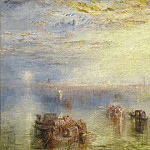 Joseph Mallord William Turner - Approach to Venice, National Gallery of Art (Washington)