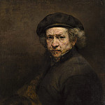 Rembrandt van Rijn - Self-Portrait, National Gallery of Art (Washington)