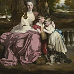 Sir Joshua Reynolds – Lady Elizabeth Delme and Her Children, National Gallery of Art (Washington)