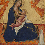Andrea di Bartolo – Madonna and Child [obverse], National Gallery of Art (Washington)